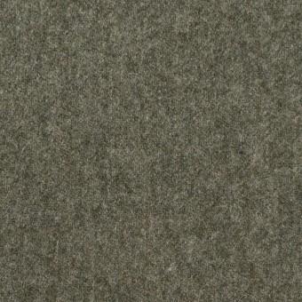 ウール&ナイロン×無地(アイビーグリーン)×フラノ(フランネル) サムネイル1