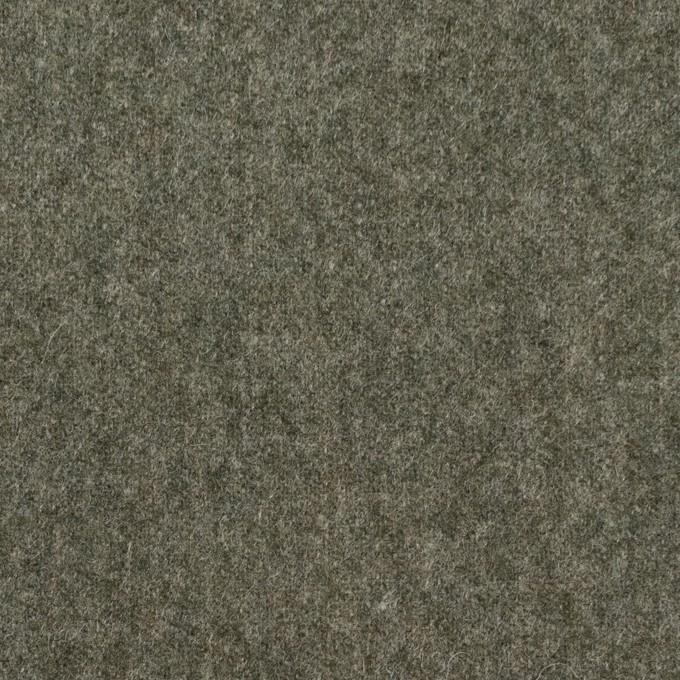 ウール&ナイロン×無地(アイビーグリーン)×フラノ(フランネル) イメージ1