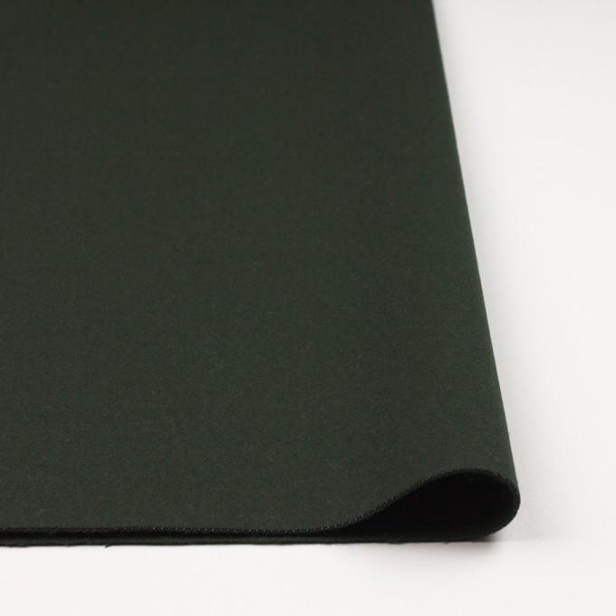 ウール&ナイロン×無地(モスグリーン)×ソフトカルゼ イメージ3