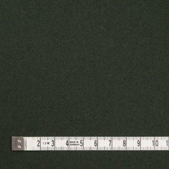 ウール&ナイロン×無地(モスグリーン)×ソフトカルゼ サムネイル4