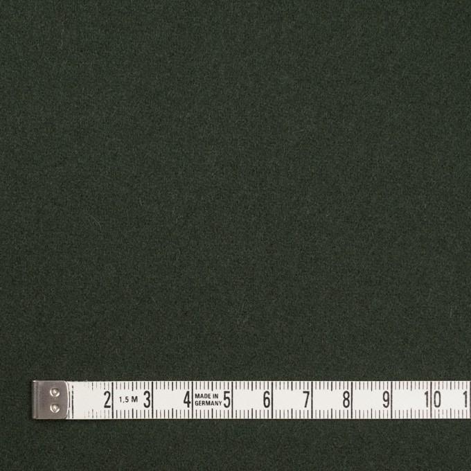 ウール&ナイロン×無地(モスグリーン)×ソフトカルゼ イメージ4