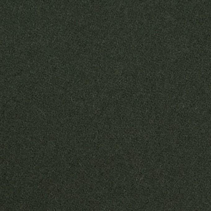 ウール&ナイロン×無地(モスグリーン)×ソフトカルゼ イメージ1