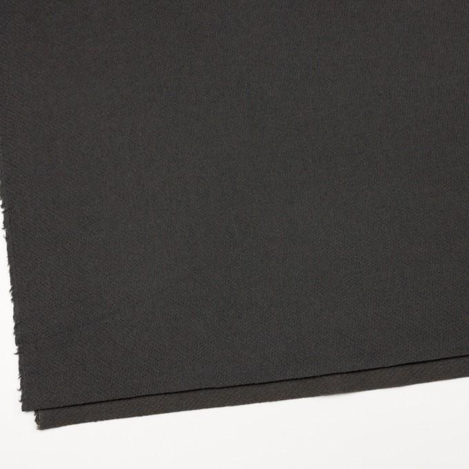 ウール&ナイロン×無地(モスグレー)×かわり織 イメージ2