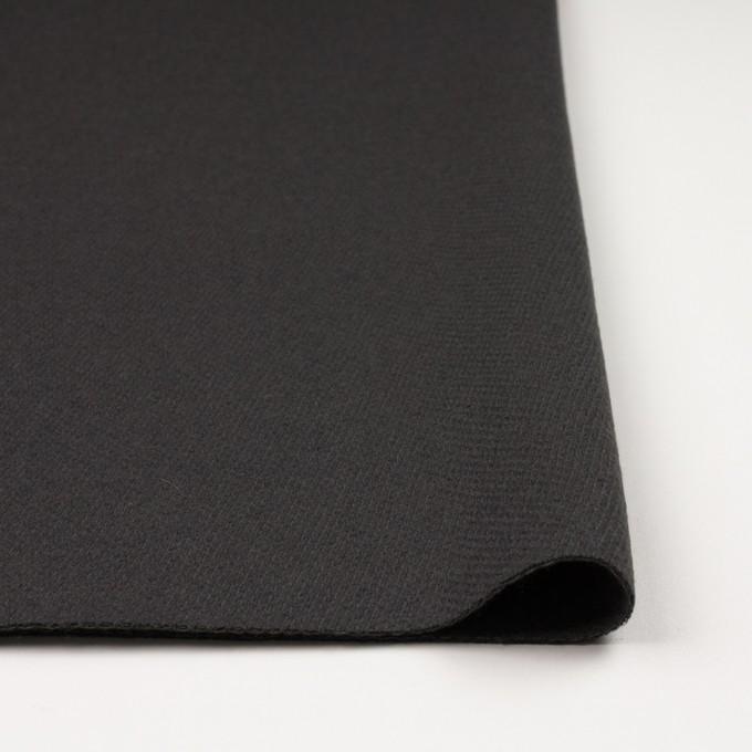 ウール&ナイロン×無地(モスグレー)×かわり織 イメージ3