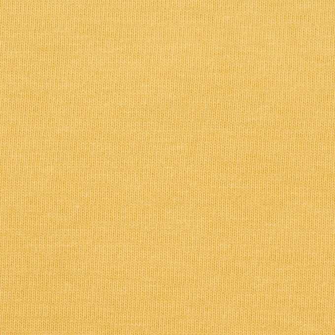 コットン×無地(イエロー)×天竺ニット_全3色 イメージ1
