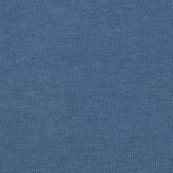 コットン×無地(ブルーグレー)×天竺ニット_全3色
