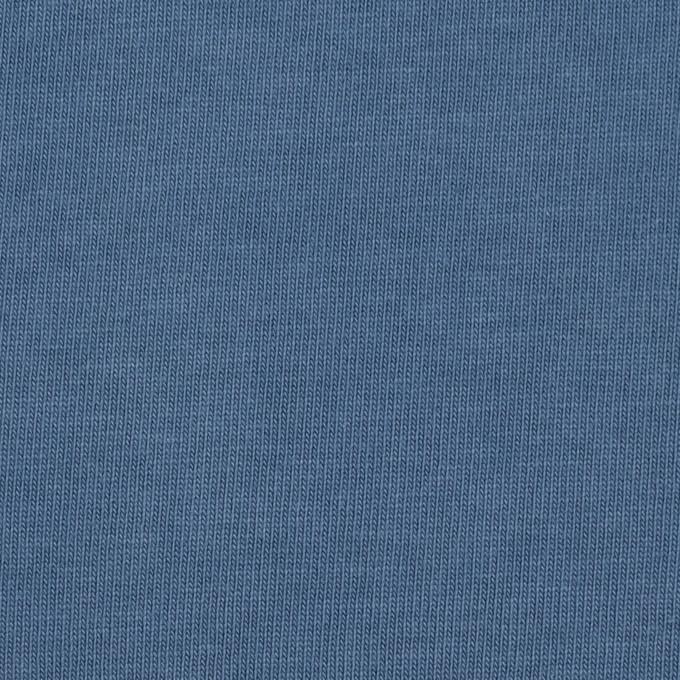 コットン×無地(ブルーグレー)×天竺ニット_全3色 イメージ1