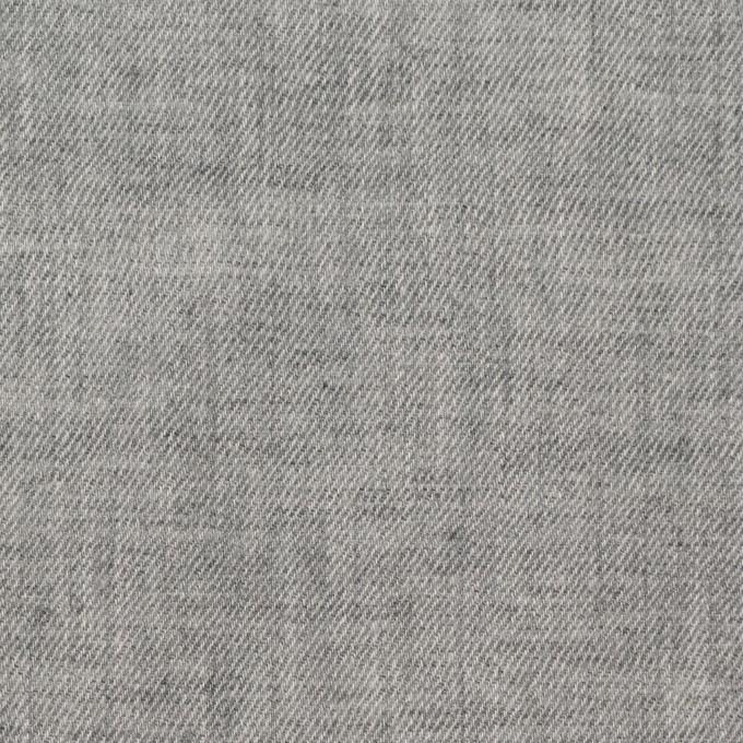 コットン×無地(ライトグレー)×ビエラ イメージ1