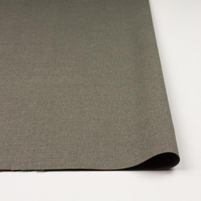 コットン×無地(カーキグリーン)×かわり織 イメージ3