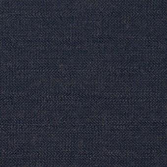 コットン×無地(アイアンネイビー)×かわり織
