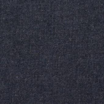 コットン×無地(アイアンネイビー)×フランネル サムネイル1