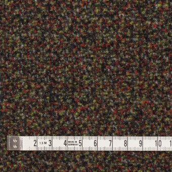 ウール&アクリル混×ミックス(レッド、グリーン&ブラック)×ファンシーツイード サムネイル4