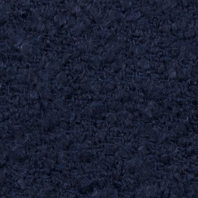 ウール&アクリル混×無地(ネイビー)×ファンシーツイード イメージ1