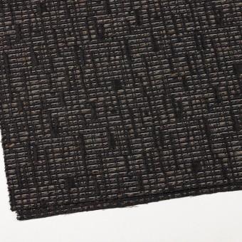 ポリエステル&レーヨン混×幾何学模様(モカ&ブラック)×ジャガード サムネイル2