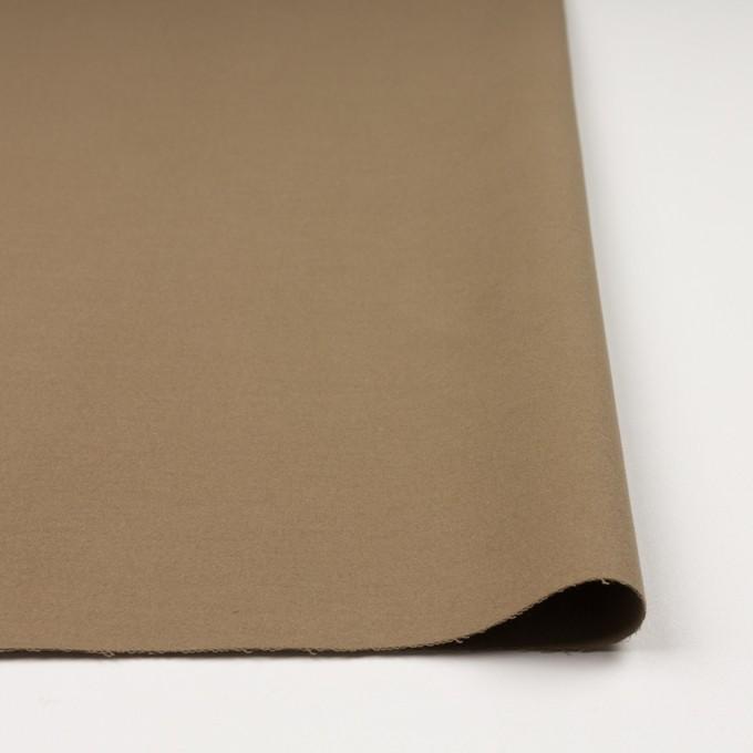 コットン×無地(カーキ)×モールスキン_全3色_イタリア製 イメージ3