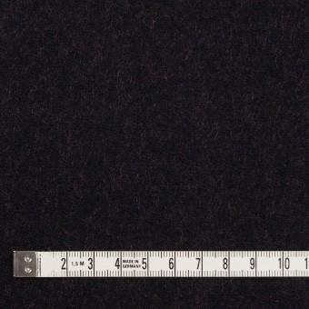 ウール&ナイロン×無地(ブラック&パッションオレンジ)×かわり織_全2色 サムネイル4