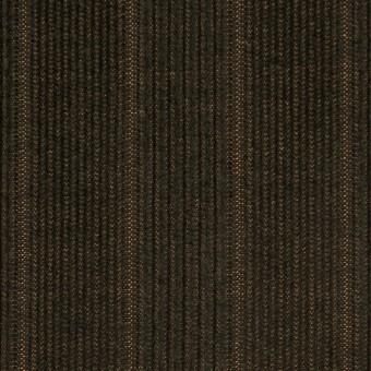 コットン&ポリエステル混×ストライプ(カーキグリーン)×中細コーデュロイ・ストレッチ