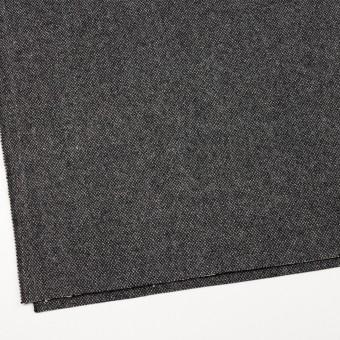 ウール&ナイロン×ミックス(アイボリー&ブラック)×ツイード サムネイル2