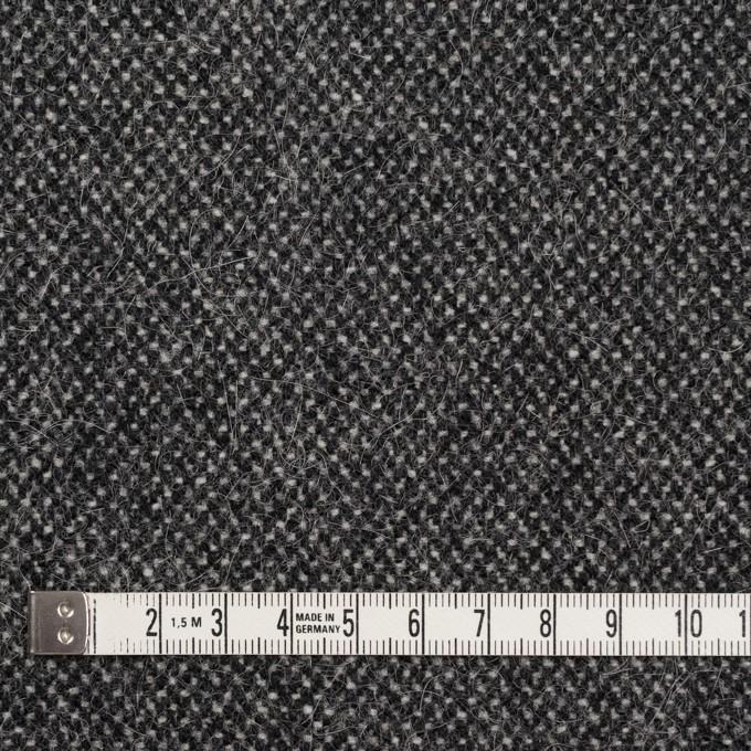 ウール&ナイロン×ミックス(アイボリー&ブラック)×ツイード イメージ4