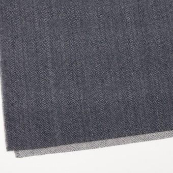 ウール&ナイロン×ミックス(ブルーグレー)×ヘリンボーン_全2色 サムネイル2