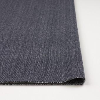 ウール&ナイロン×ミックス(ブルーグレー)×ヘリンボーン_全2色 サムネイル3