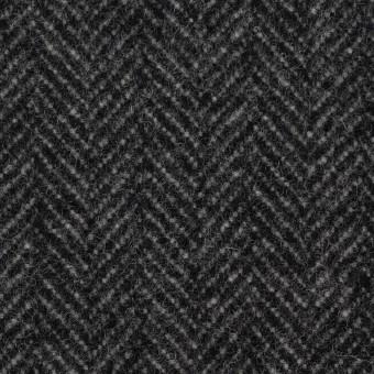 ウール&ナイロン×ミックス(チャコールグレー)×ヘリンボーン_全2色 サムネイル1
