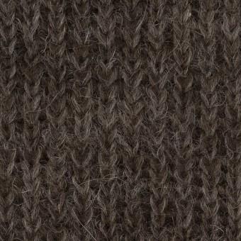 モヘア&ウール混×無地(ダークブラウン)×バルキーニット_全3色_イタリア製 サムネイル1