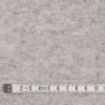 ウール&アクリル混×無地(ライトグレー)×ループニット サムネイル4