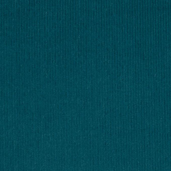 コットン×無地(エメラルドブルー)×細コーデュロイ_全8色 イメージ1