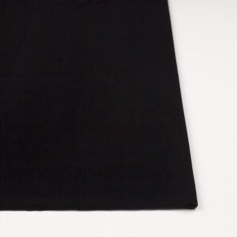 ポリエステル&ポリウレタン×無地(ブラック)×ニットベロア サムネイル3