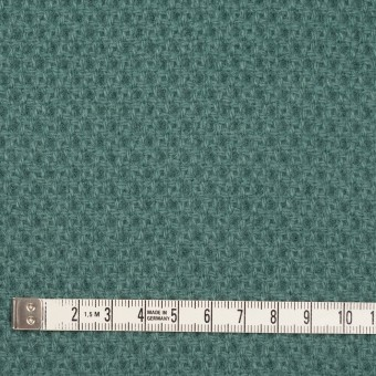 ウール×無地(クロムグリーン)×かわり織_全3色 サムネイル4