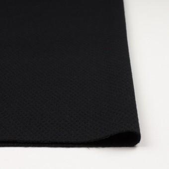ウール×無地(ブラック)×かわり織_全3色 サムネイル3