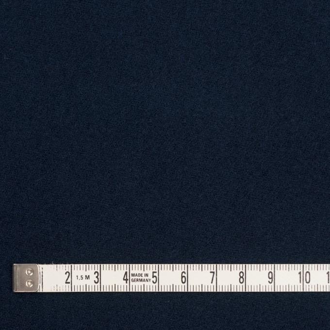 コットン×無地(ネイビー)×モールスキン イメージ4