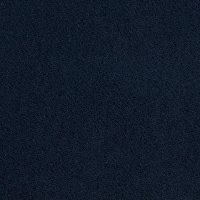 コットン×無地(ネイビー)×モールスキン イメージ1