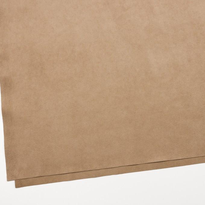 ポリエステル&ポリウレタン×無地(オークルベージュ)×スエード(人工皮革)_全3色 イメージ2