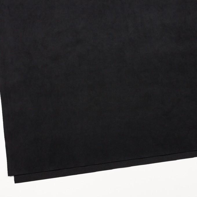 ポリエステル&ポリウレタン×無地(ブラック)×スエード(人工皮革)_全3色 イメージ2