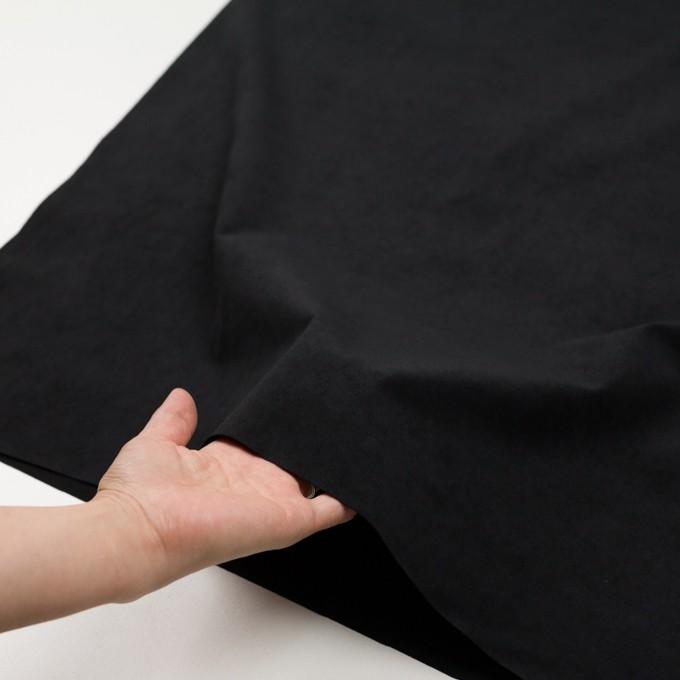 ポリエステル&ポリウレタン×無地(ブラック)×スエード(人工皮革)_全3色 イメージ5