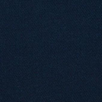 コットン&ポリエステル×無地(ネイビー&エメラルドグリーン)×裏毛ニット サムネイル1