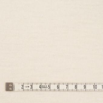 ウール×無地(クリーム)×天竺ニット サムネイル4