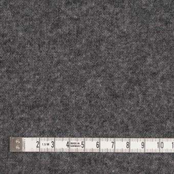 ウール&ナイロン×無地(チャコールグレー&ブラック)×W天竺ニット_全2色 サムネイル4