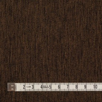 ウール&ナイロン混×無地(ブロンズ)×ツイードストレッチ サムネイル4