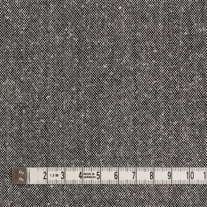 ウール&シルク×無地(シルバーグレー)×ツイード イメージ4
