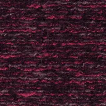 ウール&アクリル混×ミックス(ベリー)×ループニット_イタリア製 サムネイル1