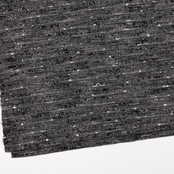 ウール&アクリル混×ミックス(グレー&ブラック)×ファンシーツイード サムネイル2