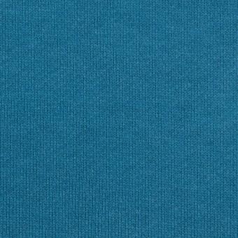 コットン×無地(セルリアンブルー)×裏毛ニット サムネイル1