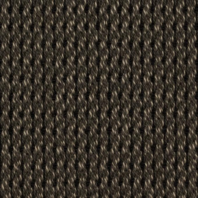 アクリル&コットン混×ミックス(カーキ)×かわり織 イメージ1