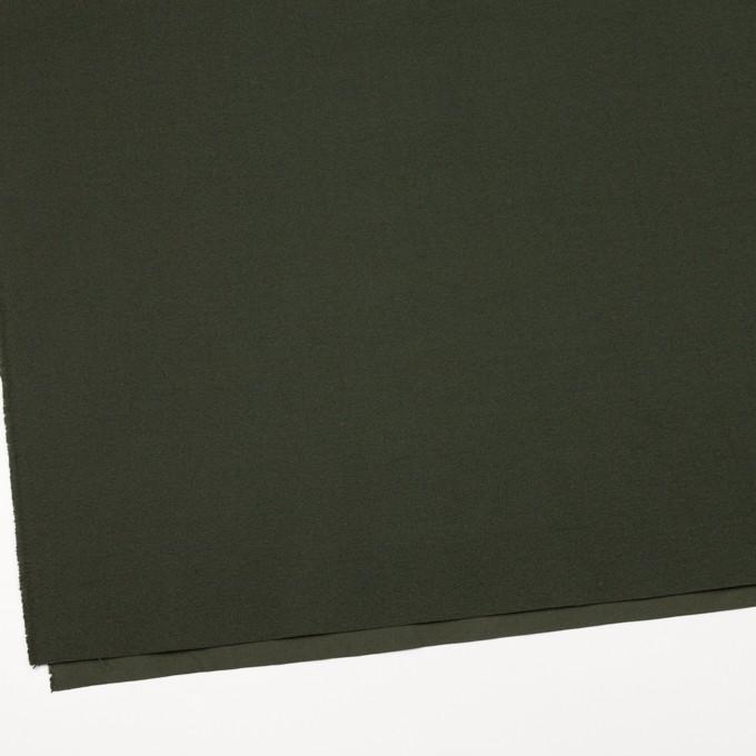 コットン×無地(カーキグリーン)×キャンバス イメージ2
