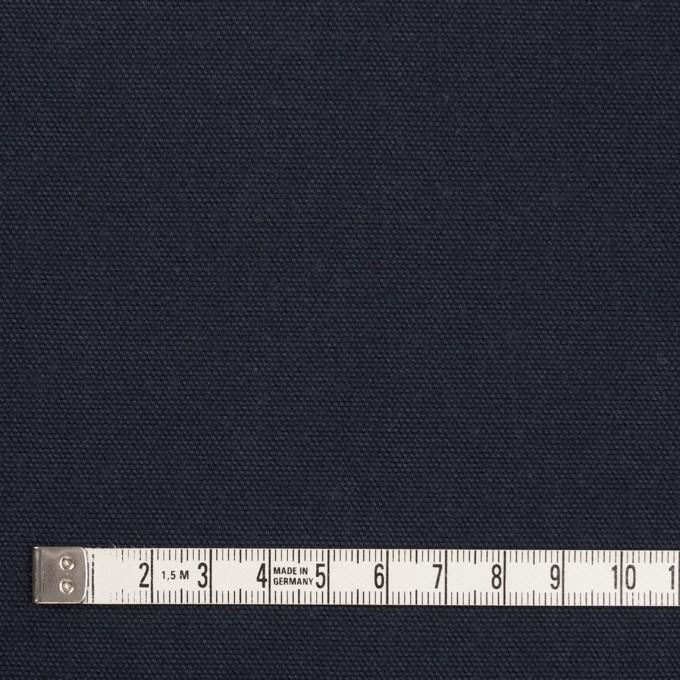 コットン×無地(ネイビー)×キャンバス イメージ4