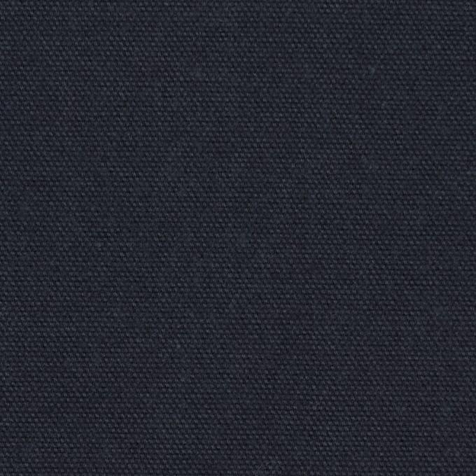 コットン×無地(ネイビー)×キャンバス イメージ1