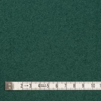 ウール×無地(ジャスパーグリーン)×圧縮ループニット サムネイル4
